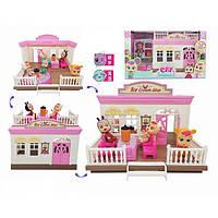 """Пупс """"CB"""" TM335  домик,мебель,аксессуары, в кор. 39*16*21,5 см"""
