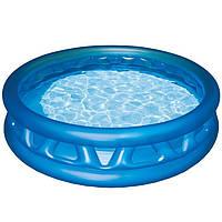 Бассейн детский надувной Intex 188х46 см Синий (58431R)