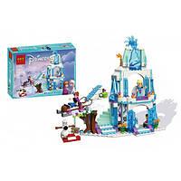 Конструктор для девочек Ледяной замок Эльзы 308 деталей Bolx Frozen 82106  (аналог Lego Disney Princess 41062)