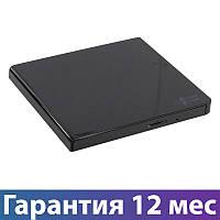 Внешний дисковод для ноутбука LG GP57EB40, Black, DVD+/-RW, USB 2.0, переносной оптический привод