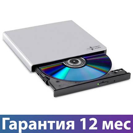 Внешний дисковод для ноутбука LG GP57ES40, Silver, DVD+/-RW, USB 2.0, переносной оптический привод, фото 2