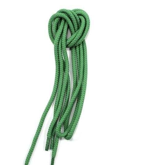 ✅ Зеленые круглые шнурки для обуви MAVI STEP Shoelaces Green, Ø 5 мм, 90 см