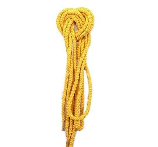 ✅ Желтые круглые шнурки для обуви MAVI STEP Shoelaces Yellow, Ø 5 мм, 120 см