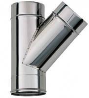 Тройник 45 °, диаметр 110 мм