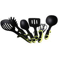 Кухонный набор A-PLUS 7 предметов Черный (1407)