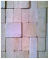 Плитка ФОРТ желто-белая (20х100x100)