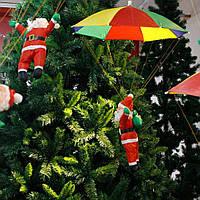 Фигура Деда Мороза с зонтиком 35см.