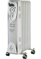 Обогреватель маслянный Adler AD 7807 на 7 секций мощность 1500w (AD 7807)