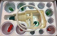 Масажные банки с магнитными насадками (12 шт.)