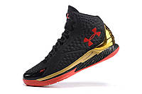 Мужские кроссовки UNDER ARMOUR CURRY ONE All-Star (Black/Gold), фото 1