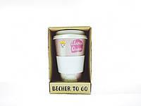Кофейная кружка Cepewa to go becher 350 мл Lama Qeen (cup350lq)