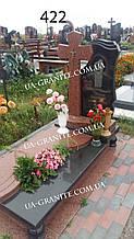 Памятники с крестом на могилу для мамы из гранита