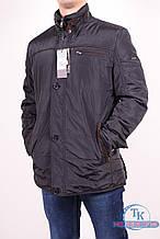 Куртка мужская (цв.черный) демисезонная из плащевки WOLVES W-248 Размер:46