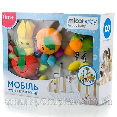 """Музичний мобіль Mioobaby """"Соковиті фрукти"""""""