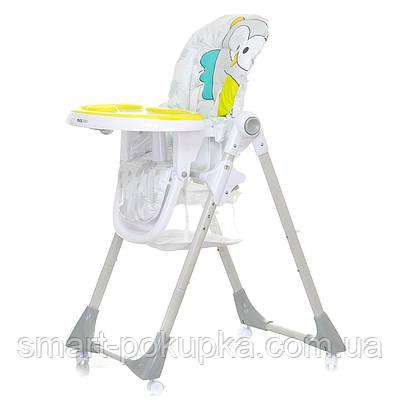 Стільчик для годування Mioobaby Carnival Класичний стільчик, сова жовта
