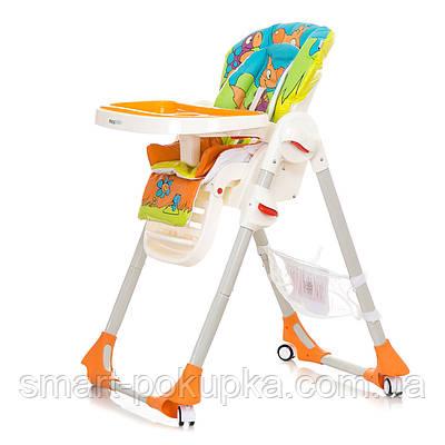 Дитячий стільчик для годування Mioobaby RIO Помаранчевий
