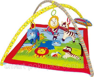 """Розвиваючий килимок """"Веселий зоопарк"""" JF125"""