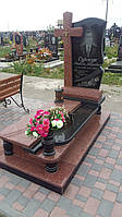 Ексклюзивні пам'ятники хрест із граніту замовити