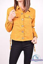 Пиджак женский (цв.горчичный) Zahram 637 Размер:46