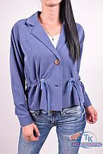 Пиджак женский (цв.синий) 838 Размер:44,46,48,50