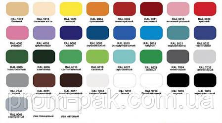 Аэрозольная краска  LIDER серая 7046 400, фото 2