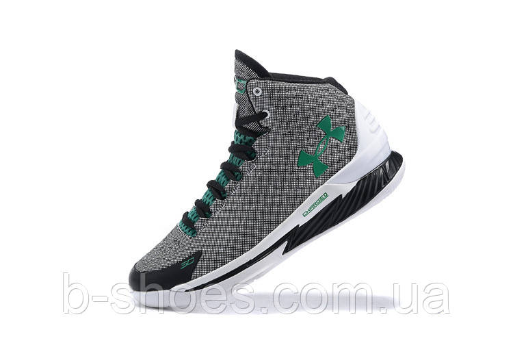 Мужские кроссовки UNDER ARMOUR CURRY ONE All-Star (White/Black/Green)