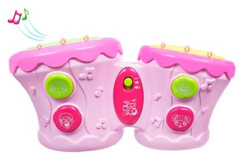 Барабани Бонго, рожеві, BeBeLino 57032