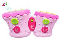 Барабани Бонго, рожеві, BeBeLino 57032, фото 1