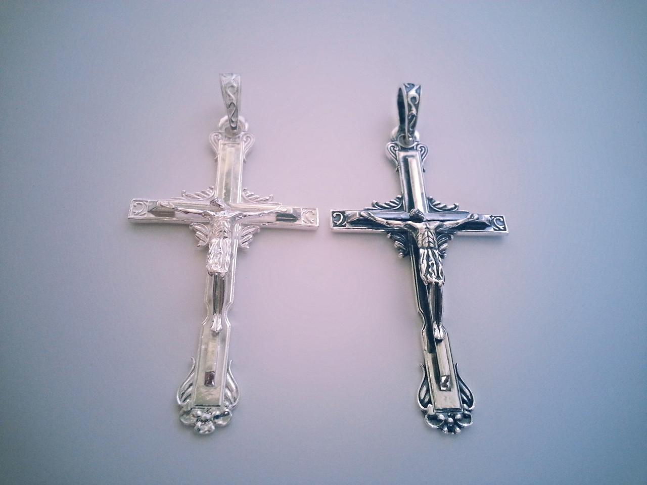 Большой Серебряный Крест Арт. Кр 127