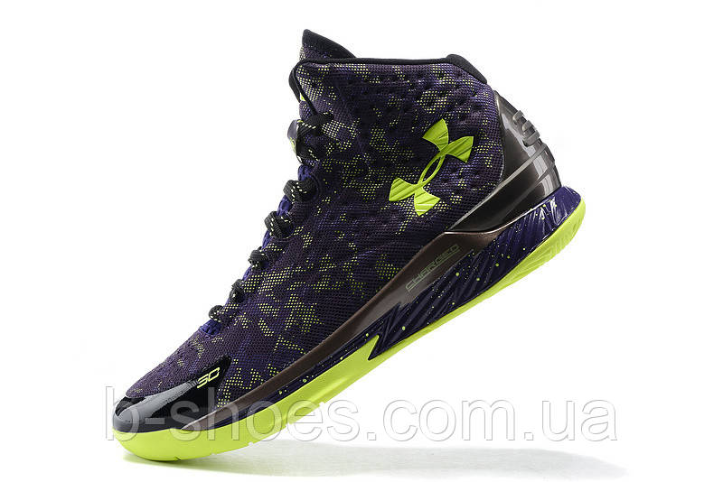 Мужские кроссовки UNDER ARMOUR CURRY ONE All-Star (Blue/Green)