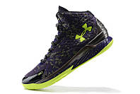 Мужские кроссовки UNDER ARMOUR CURRY ONE All-Star (Blue/Green), фото 1