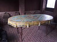 Стол садовый керамический