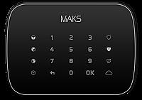 Беспроводная сенсорная клавиатура MAKS Keypad (black)