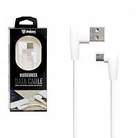 Кабель Inkax CK-48 USB - micro USB Угловой