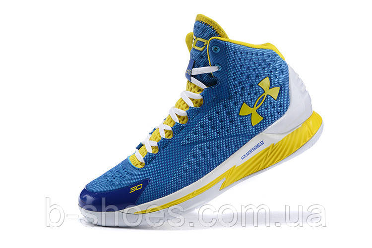 Мужские кроссовки UNDER ARMOUR CURRY ONE All-Star (Blue/Yellow)