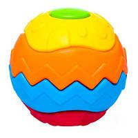 М'яч 3D Головоломка з рельєфною поверхнею, BeBeLino 58076, фото 1