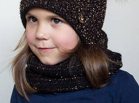 Зимний шарф хомут Фея