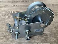 Барабанная Лебедка Hand Winch KC-2500 ! 1500кг