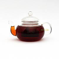 """Чайник стеклянный """"Волны"""", 600 мл. Заварочный чайник"""