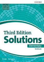 Solutions Elementary 3rd edition (Third edition) Workbook Book