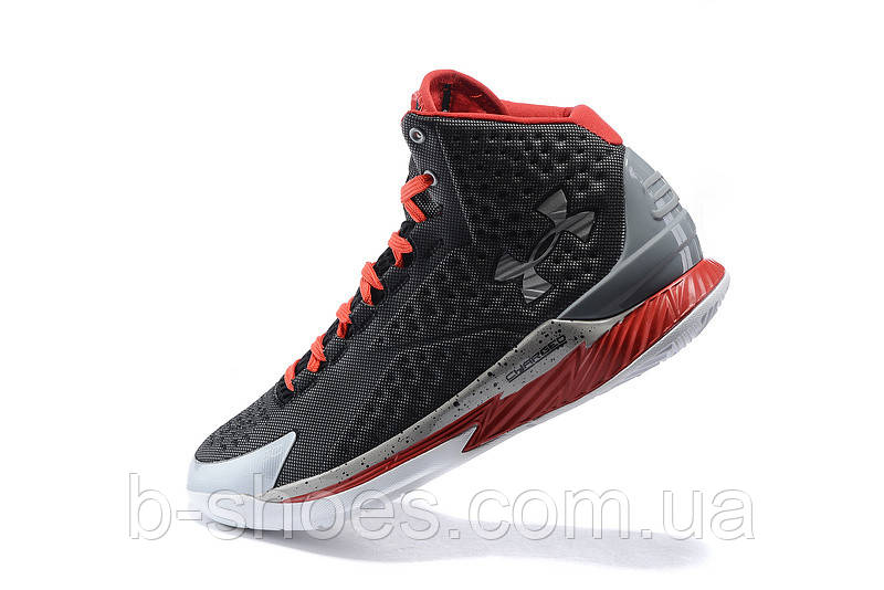 Мужские кроссовки UNDER ARMOUR CURRY ONE All-Star (Grey/Red)