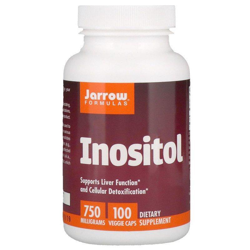 "Инозитол (витамин B8) Jarrow Formulas ""Inositol"" 750 мг (100 капсул)"