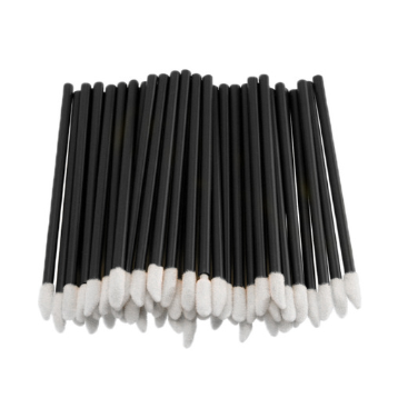 Одноразовые кисточки для макияжа, аппликатор для губной помады, макробраши чёрные в пакете, 50 шт