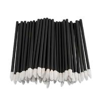 Одноразовые кисточки для макияжа, аппликатор для губной помады, макробраши чёрные в пакете, 50 шт, фото 1