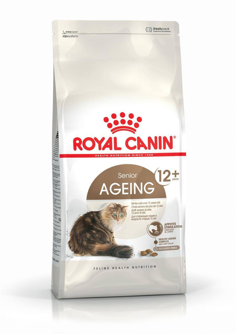 Сухой корм Royal Canin Ageing 12+ для пожилых кошек старше 12 лет 2 кг
