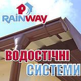 Кронштейн желоба водосточного RainWay 90 мм пластиковый, фото 2