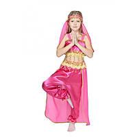 Карнавальный костюм принцессы Жасмин, восточной красавицы, малиновый