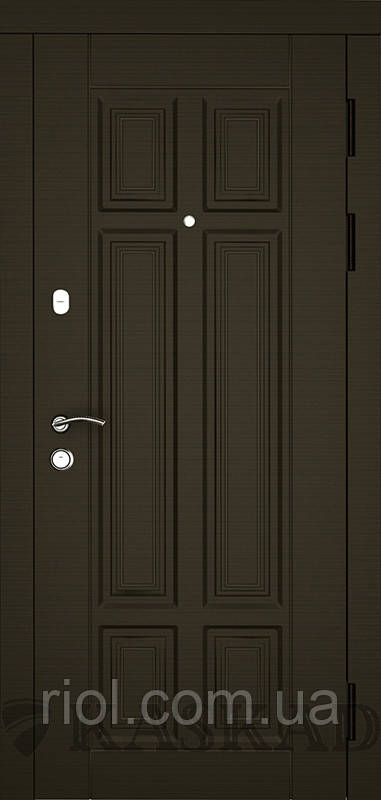 Дверь входная Паралель серии Комфорт ТМ Каскад