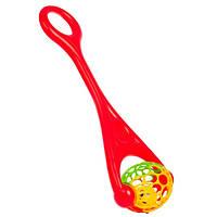Моя первая Каталка-мяч (красная), BeBeLino        58101, фото 1