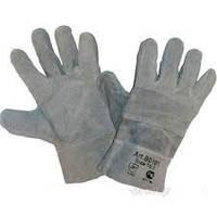 Перчатки замшевые с усиленным наладонником